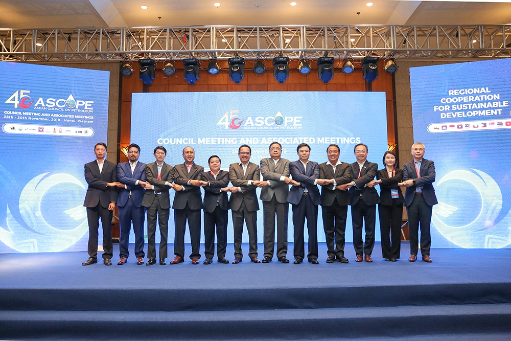PetroVietnam successfully organizes the 45th session of ASCOPE Council