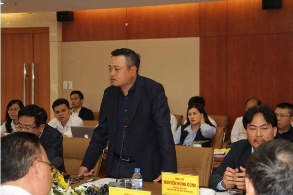 Lãnh đạo Tập đoàn Dầu khí Việt Nam làm việc với PVE và PVGAS