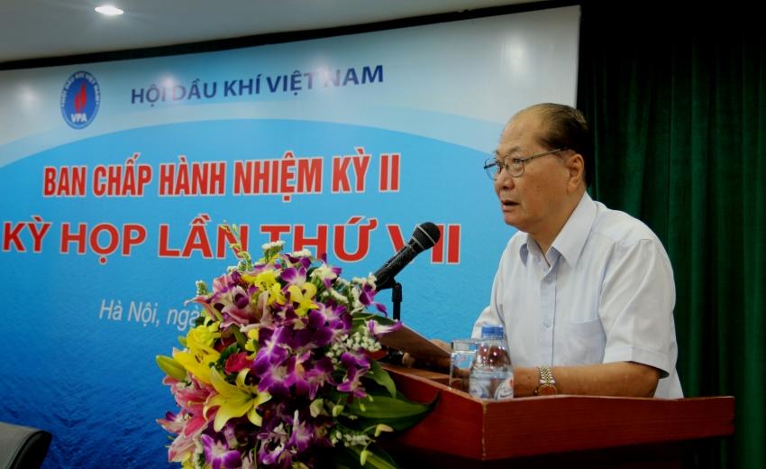 Hội nghị Ban Chấp hành Hội Dầu khí Việt Nam lần thứ 7 nhiệm kỳ II